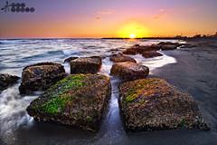 _DSC2899 ( Marco Carotenuto ) Tags: sunset sea italy sun rome roma rock photography photo mac nikon italia tramonto nuvole mare centro strong marco nikkor sole sud lazio regione cluods carotenuto d3s 1424mm
