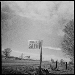 The Cafe That No Longer Is (pam's pics-) Tags: food sign restaurant cafe colorado sanluisvalley co slc outofbusiness iphone pammorris walsenberg pamspics blancacolorado hipsta appleiphone iphone4 mobilephonephotography iphoneography hipstamatic blancacafe