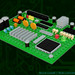 "LEGO Circuit Board • <a style=""font-size:0.8em;"" href=""http://www.flickr.com/photos/44124306864@N01/7003668685/"" target=""_blank"">View on Flickr</a>"