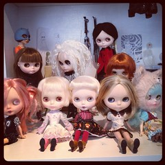 Dolly time! (Kittytoes) Tags: blythe app squeakymonkey instagram