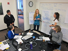 Modern business: Brainstorming by kevin dooley, on Flickr
