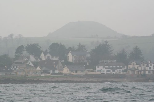 Leaving Cushendall in the haze