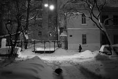 *** (spoonlite) Tags: winter blackandwhite snow film lowlight russia saintpetersburg 2010 cls kolomna autaut