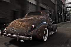 """paint special ahead!"" (Neil Banich Photography) Tags: cars chevrolet car 1936 automobile artistic custom artcar hotrods ratrod autoart 5windowcoupe carscool picturescool neilbanichphotograhy imagescool 1936chevrolet5windowcoup"