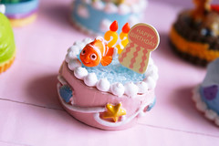 Pixar birthday cakes! (Marine - La Compagnie des Radis) Tags: birthday food jessie cake buzz miniature nemo bob woody pixar ment re sully rement anniversaire compagnie gateau sulley monstres