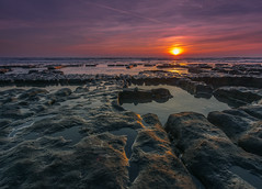 Just before the sun set (Howie Mudge) Tags: uk sea sky clo