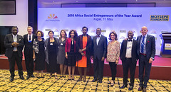 Gala Dinner celebrating the 2016 Social Entrepreneurs of the Year Awards, co-hosted by the Schwab Foundation for Social Entrepreneurship and The Motsepe Foundation. (Jeannette Kagame) Tags: africa lady first social rwanda foundation entrepreneurship wef serena jeannette schwab 2016 kagame imbuto motsepe