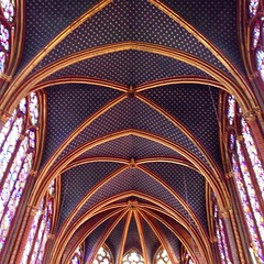 This is another way to do... (AndersonAndersonArchitecture) Tags: sky paris up high cool fleurdelis canopy glassy saintechapelle uploaded:by=flickstagram instagram:venue=718060 instagram:venuename=saintechapelle instagram:photo=10228246473231098451287363409