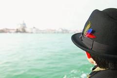 RGB (Boccalupo) Tags: venice portrait italy blur hat canon eos europa europe italia chapeau rgb venise venezia venedig italie flou veneto vntie 5dmarkii