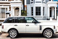 Notting Hill (thendele) Tags: uk greatbritain england white london gb rangerover nottinghill weis greaterlondon vereinigtesknigreich cleanfacade