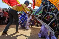 Dance | Holi (SaumalyaGhosh.com) Tags: street travel people india color festival fun dance nikon holi d610
