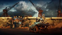 Crazy Chariot (Sspektr) Tags: car death pc screenshot videogame madmax wasteland postapocalypse madmaxgame