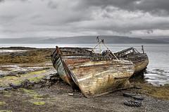 Derelict boats Salen 2016-05-17 (6D_6644-6) (ajhaysom) Tags: boats scotland mull derelict salen canon24105l canoneos6d