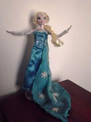 OOAK - Let it go Elsa (Syeoria) Tags: anna frozen doll go it disney let elsa