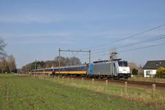 NMBS 2863 met Benelux, Roosendaal, 27-02-2016 (Michael Postma) Tags: ic ns international 186 brussel roosendaal traxx benelux icr nispen railpool