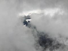 The fog and the snow peak (R_Ivanova) Tags: sky mist mountain snow nature fog clouds landscape spring hill peak    fujifilmfinepix    rivanova