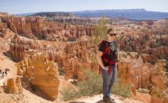 Standing on top of the world! (Andrea Ellen P.) Tags: utah nps hiking hike hoodoo geology brycecanyon nationalparkservice hoodoos brycecanyonnationalpark nationalparksystem nps100