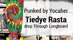 Punked Tiedye Rasta (longboardsusa) Tags: usa skate tiedye skateboards rasta punked longboards longboarding