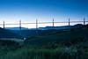 Lever de soleil sur le Viaduc de Millau (gaillardou) Tags: lever soleil millau viaduc pont tarn nature paysage sun set sunset canon 70d 1740 cokin filter amateur french photo france français française jeune pose