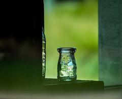 Through a window - Happy Window Wednesday (randyherring) Tags: california park ca sky window nature us afternoon unitedstates outdoor sanjose masonjar historical recreational santaclaracountyparks martialcottlepark martialcottlefamilyranch
