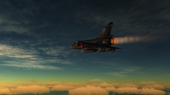 Mirage 2000C Interception over Georgia 3 (Fox_Returns) Tags: 2000 flight mirage simulator dcs interception