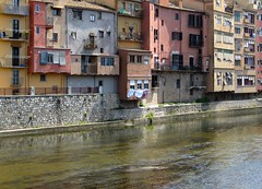 Girona (sirio174 (anche su Lomography)) Tags: girona catalogna case casecolorate spagna spain espana