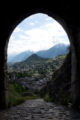 arch (sabrandt) Tags: castle wallis sion valais chateautourbillon