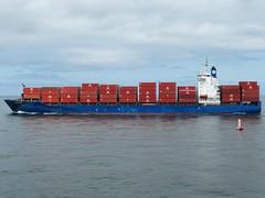 L2016_2844 - Container Ship FRISIA BONN at Formby (www.jhluxton.com - John H. Luxton Photography) Tags: leica uk england liverpool ship containership rivermersey frisiabonn irishseashipping johnhluxtonphotography hartmanndrycargo