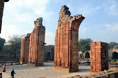 RUINS AT QUTUB MINAR (manojphotography) Tags: travel india tourism photography ruins delhi monuments forts newdelhi qutubminar manoj iltutmish manojphotography