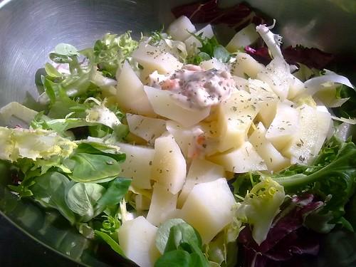 Potato salad - Ensalada de patata