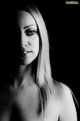 ...mezzo B/N... (davep.ictures) Tags: portrait bw woman eye art girl face photo donna eyes nikon foto bn occhi portraiture ritratto viso 2012 volto d90 davepictures davideposenato