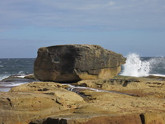 235 ton Rock (bluehorizon99) Tags: ocean sea storm water rock sydney australia bondibeach benbuckler