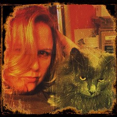 "Project 2012; Day 68 ""hangin' with my kit-cat"" (cindeeluwho1) Tags: square squareformat normal iphoneography instagramapp uploaded:by=instagram"