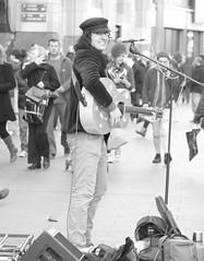 Jonny Walker.....Troubadour, Busker, Minstrel, Occasional Poet & Pilgrim. (Tony Beyga) Tags: liverpool guitar poet busker minstrel pilgrim scouser jonnywalker trouadour anthonybeyga