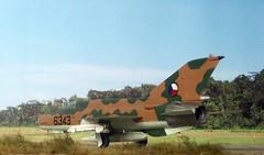 "1:72 MiG-21MF, Czechoslovak Air Force ""6343""; unknown squadron, early 80ies (Kovozvody Prostejov kit) (dizzyfugu) Tags: brown scale model force conversion czech air plastic kit czechoslovakia 172 prostejov sidewinder interceptor atoll mikoyan mig21 czechoslovak fishbed aa2 dizzyfugu gurewitsch kovozavody"