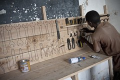 29 Nov 11 (jasonelliotfinch) Tags: shadow kenya gh workbench mombasa toolboard