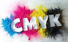 CMYK (71/365) (Explored - 11/2/12 No.7) (Jchales.co.uk) Tags: canonefs1855mmf3556isii cyan magenta yellow black cmyk cmy toner ink cartridge cartridges 365 days project 71 day work stencil cut out cutout
