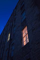 (alancowper) Tags: morning blue light window edinburgh low illumination warmth olympus panasonic 20mm auld ep3 reekie tenaments