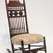 135. Antique Oxford, NC Rocking Chair