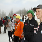 Saturday SL Podium pictures from the 2012 Teck K2 Provincials                        PHOTO CREDIT: Keven Dubinsky