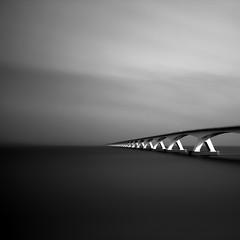 Zeeland Bridge (Kees Smans) Tags: longexposure landscape ir infrared zeelandbridge keessmans