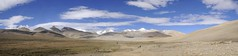 Panorama - the ascent to Lamna La (Niall Corbet) Tags: china mountain bicycle tour tibet cycle himalaya redspokes
