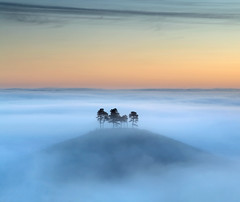 Another Slice of Heaven (Tony Gill) Tags: autumn mist fog dorset colmershill