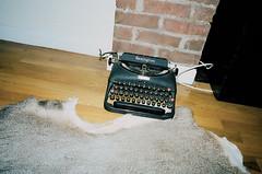 (▲brian james) Tags: life new york city nyc streets film typewriter 35mm vintage manhattan brian cz adventures remington brianjamesphotography httpbrianjamesphotographynet httpbrianjamesphototumblrcom