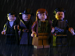 Blade Runner Characters 01 (Legohaulic) Tags: movie lego bladerunner minifig commission