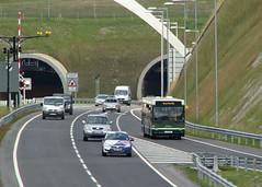Xelabus at Hindhead (ƒliçkrwåy) Tags: bus pointer tunnel dennis dart hindhead plaxton r711ywc xelabus