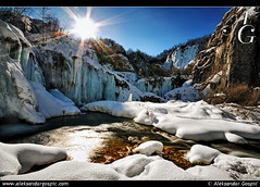 The World in Cryo (TranceVelebit) Tags: winter ice frozen lakes croatia falls lika plitvice plitvickajezera aleksandargospic