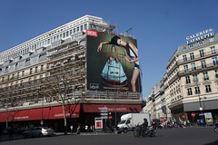 Diesel - Advertising (Miss-Beauty) Tags: paris france shopping ads bag pub galeries lafayette diesel sac galerieslafayette publicit    advertissement