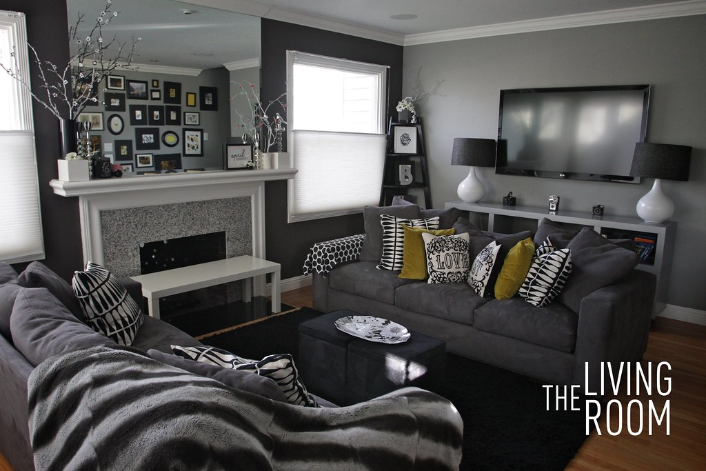 home tour: living room