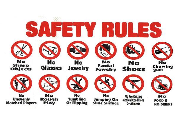 safty rules (1)